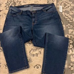 Old Navy super skinny mid rise jeans size 16